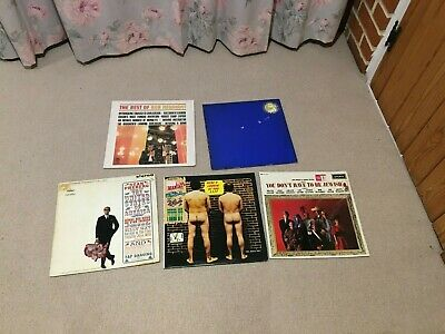 Collection 5 US Comedy Vinyl LPs Bob Newhart Murray Roman Stan Freberg Madcaps • 3.99£