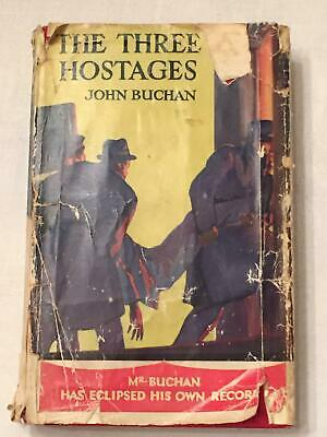 £12 • Buy The Three Hostages - Buchan, John - Dust Wrapper Present; 1st Edition