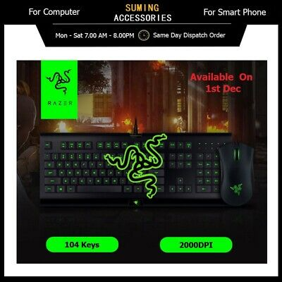 AU108 • Buy [Pre-Order]Razer Combo Cynosa Pro Keyboard And DeathAdder 2000 Mouse For Gaming