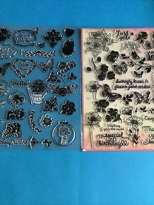 Clear Stamps For Card Making • 1.50£