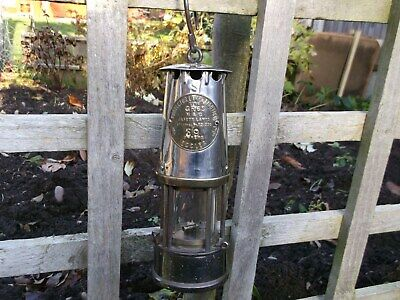Vintage Miners Lamp Eccles Type Gr6s M & Q  Full Size Lamp • 56.55£