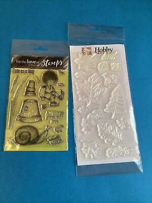 Clear Stamps For Card Making • 1£