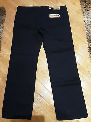 BNWT Lee Cooper Mens Navy Blue Chinos Size 44W 34L • 10£