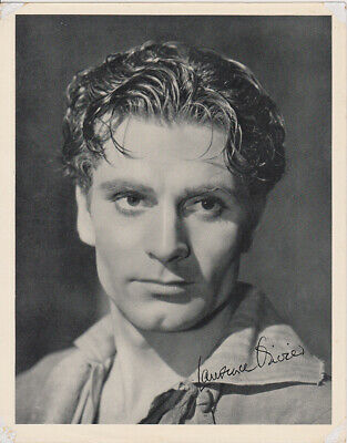 Sir Laurence Olivier Early Portrait - Signed - 1940s / 50s • 30£
