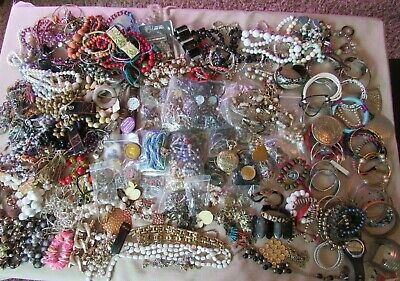 $ CDN15.03 • Buy Vintage To Now Estate 12 Lb Jewelry Lot Junk Drawer Unsearched Untested Wear