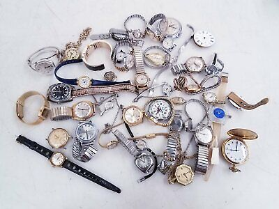 $ CDN24.83 • Buy 2.8lbs Mixed Vintage Watch Lot For Parts/Repair