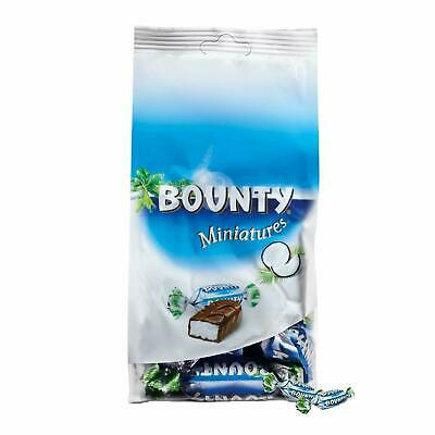 Bounty Miniature Chocolate Pouch 220 G, A Gift For All Occasions • 20£