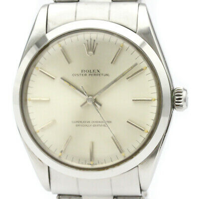 $ CDN3185.61 • Buy Vintage ROLEX Oyster Perpetual 1002 Steel Automatic Mens Watch BF521534