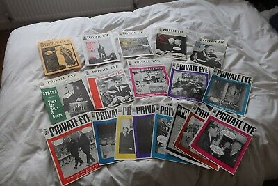 Private Eye - NEAR COMPLETE COLLECTION !!! • 660£