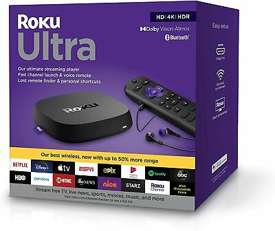AU239 • Buy 2020 ROKU ULTRA 4800R 4K Ultra HD HDR Player For NETFLIX, YouTube, Prime Video