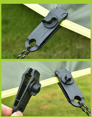 1/5/10X Tarp Tarpaulin Clip Reusable Tent Clamp Buckle Camping Tool Heavy Duty • 2.79£