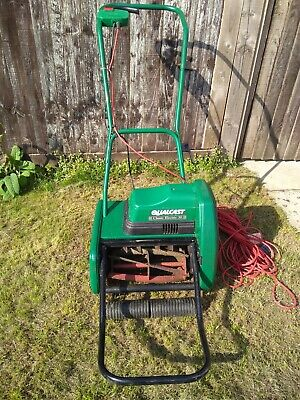 Good Condition Qualcast Electric Cylinder Self Propelled Lawnmower Classic 30. • 120£