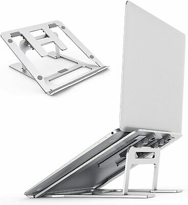 Kecow Laptop Stand Adjustable Notebook Support Tablet Aluminium Desk MAC Dell • 30.99£