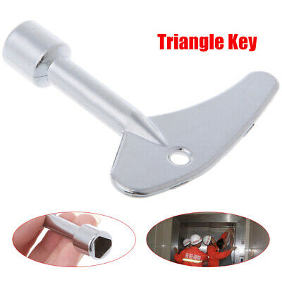 Key Wrench Triangle Plumber For Electric Cabinet Train Elevator Emergency Lift • 4.58£