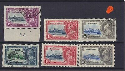 Silver Jubilee's KGV Used Collection (19)  • 0.99£