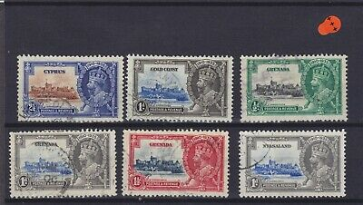 Silver Jubilee's KGV Used Collection (34)  • 0.99£