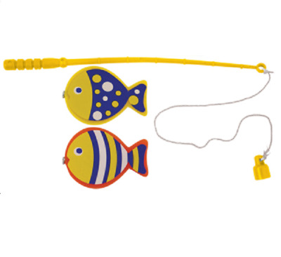 £5.89 • Buy Mini Magnetic Fishing Game Hook Rod Fish Miniature Angling Toy Catch Sea Classic
