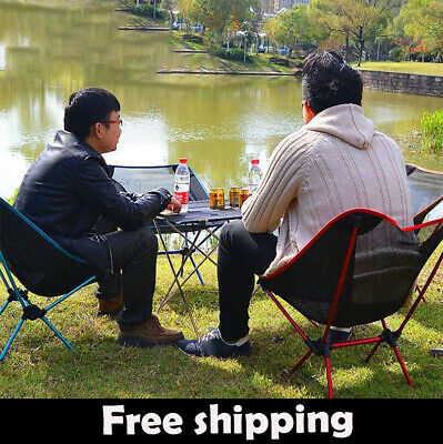 Outdoor Portable Fishing  Picnic Folding Travel Roadtrip Camping Chair Stool  • 19.85£