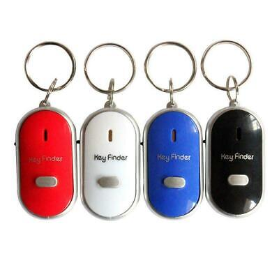 Anti Lost LED Key Finder Locator Keychain Whistle Sound Control Keyring Tracker • 3.30£