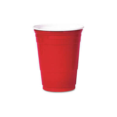 SOLO P16R Disposable Cold Cup,16 Oz.,Red,PK1000 • 149.09£