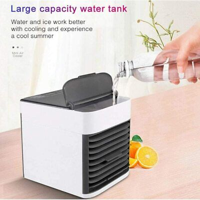 AU56.99 • Buy Mini Portable Air Cooler Air Cooling Conditioner Cool Water Tank Fan Humidifier