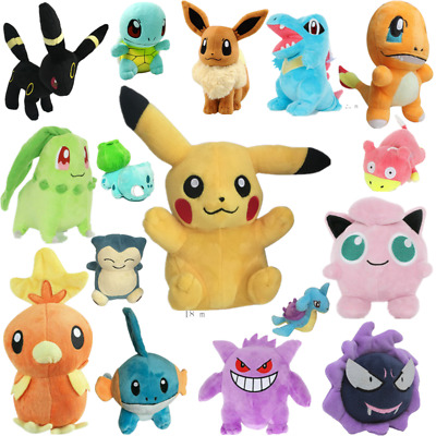 Kids Pokemon Collectible Plush Character Soft Toy Stuffed Doll Teddy Xmas Gift  • 5.99£