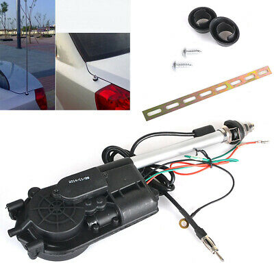 12V Universal Electric Automatic Wing Mount AM FM Car Radio Aerial Antenna Boost • 16.99£