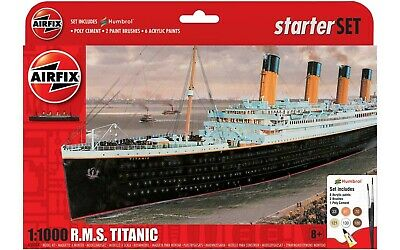 £10 • Buy Airfix A55314 1/1000 Rms Titanic - Missing Parts - Good For Spares- D