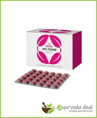$9.98 • Buy CHARAK M2 Tone Tablets For Menstrual Problems 30 Tablets Free Shipping