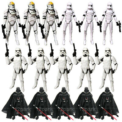 £4.74 • Buy 3.75  Star Wars Clone Trooper Stormtroopers Darth Vader Action Figure Toys Gift