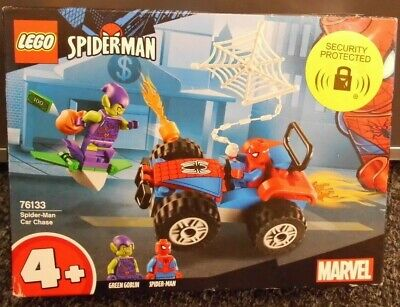 (shp) Lego Marvel Super Heroes 76133 Spider-man Car Chase Ages 5+ New And Sealed • 13.49£