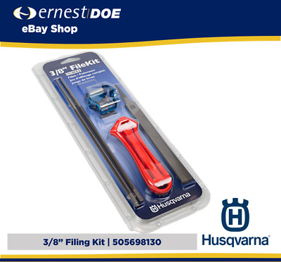 £18.95 • Buy Husqvarna 3/8  Filing Kit For 3/8  Chainsaw Chains | 505698130 | With Flat File