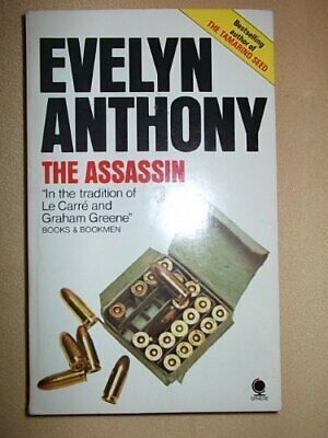 The Assassin-Evelyn Anthony, 0722112068 • 5.09£