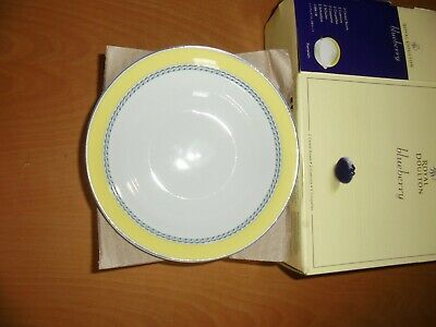 Set Of Two Royal Doulton Cereal Bowls Blueberry New In Box  • 9.99£