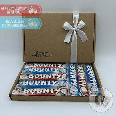 Bounty Chocolate Mixture Sweet Hamper Selection Gift Box Present Birthday • 9.99£