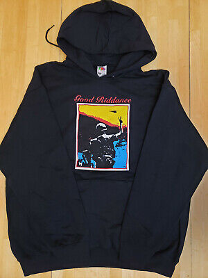 $ CDN49.99 • Buy Good Riddance Ballads From The Revolution Pullover Hoodie New Old Stock XL
