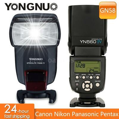 YONGNUO YN560 Ⅳ 2.4GHZ Speedlite Wireless Transceiver Integrated For Canon S5M7 • 61.30£
