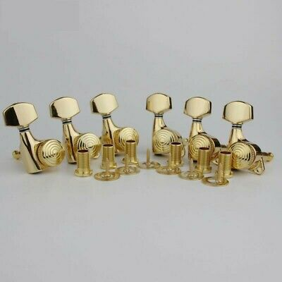 $ CDN27.34 • Buy Guitar Locking Tuners Tuning Pegs 6in Line Right Hand Strat Headstock Silver L12