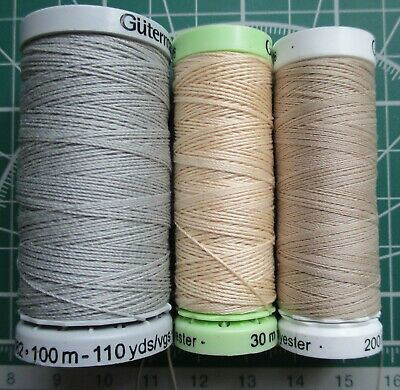 £16.31 • Buy Threads For Rigging Ship Model Accessories Kit 3 Reels Polyester 100%.