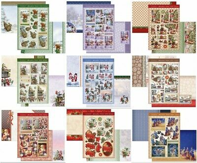 New Hunkydory Christmas Decoupage Card Kit P&P Discounts  • 1.99£