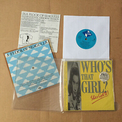 A Flock Of Seagulls – Who's That Girl (She's Got It)   7in +PICTURE DISC • 7.99£