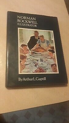 $ CDN10.37 • Buy 1972 NORMAN ROCKWELL ILLUSTRATOR HARDCOVER BOOK BY ARTHUR GUPTILL FREE Shipping