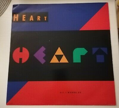 Heart - All I Wanna Do Is Make Love To You - 12 Inch Vinyl Record • 6.95£