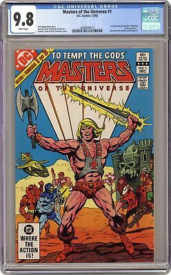 $345 • Buy Masters Of The Universe #1 CGC 9.8 1982 3698409013