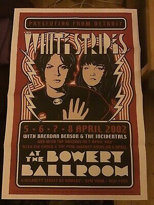 Mojo Magazine The White Stripes & Mc5 Double Sided Reproduction Poster  • 5£