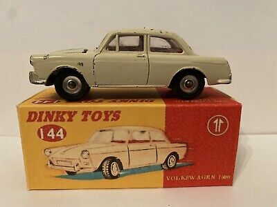 Dinky Toys 144 Volkswagen 1500 Boxed • 5.50£