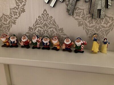 Snow White And The Seven Dwarves Vintage? Christmas Tree Decorations • 8£