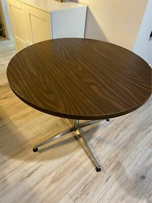 AU214.25 • Buy Round Wood Dining Table