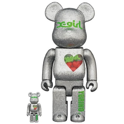 $639.81 • Buy Medicom Toy Bearbrick BE@RBRICK X-girl YURINO (E-girls) 100% & 400%, From Japan