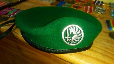 French Foreign Legion 2rep Para Beret And Badge Size 59 New • 25£